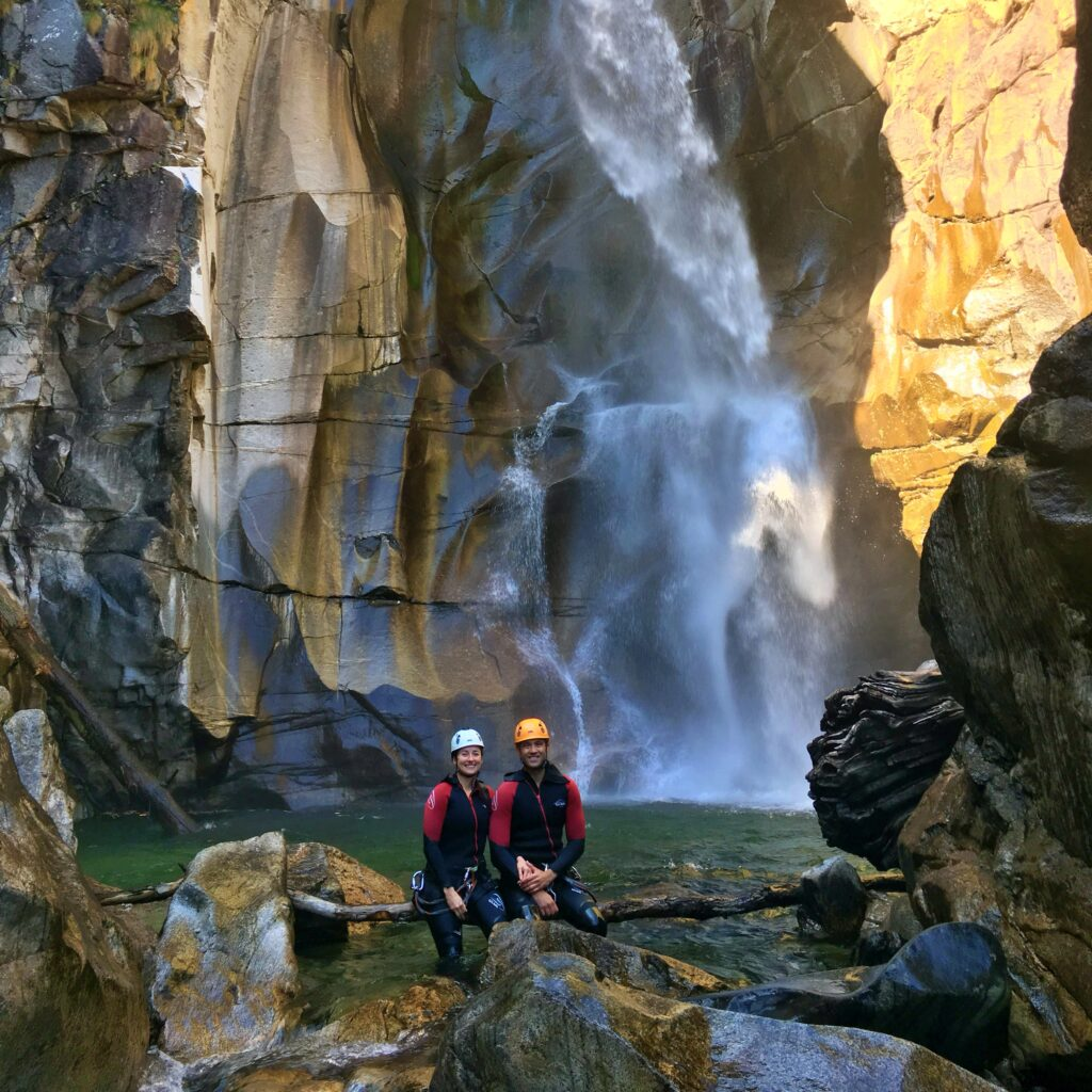 VIP canyoning tours - Being the No.1 – lodrino couple big