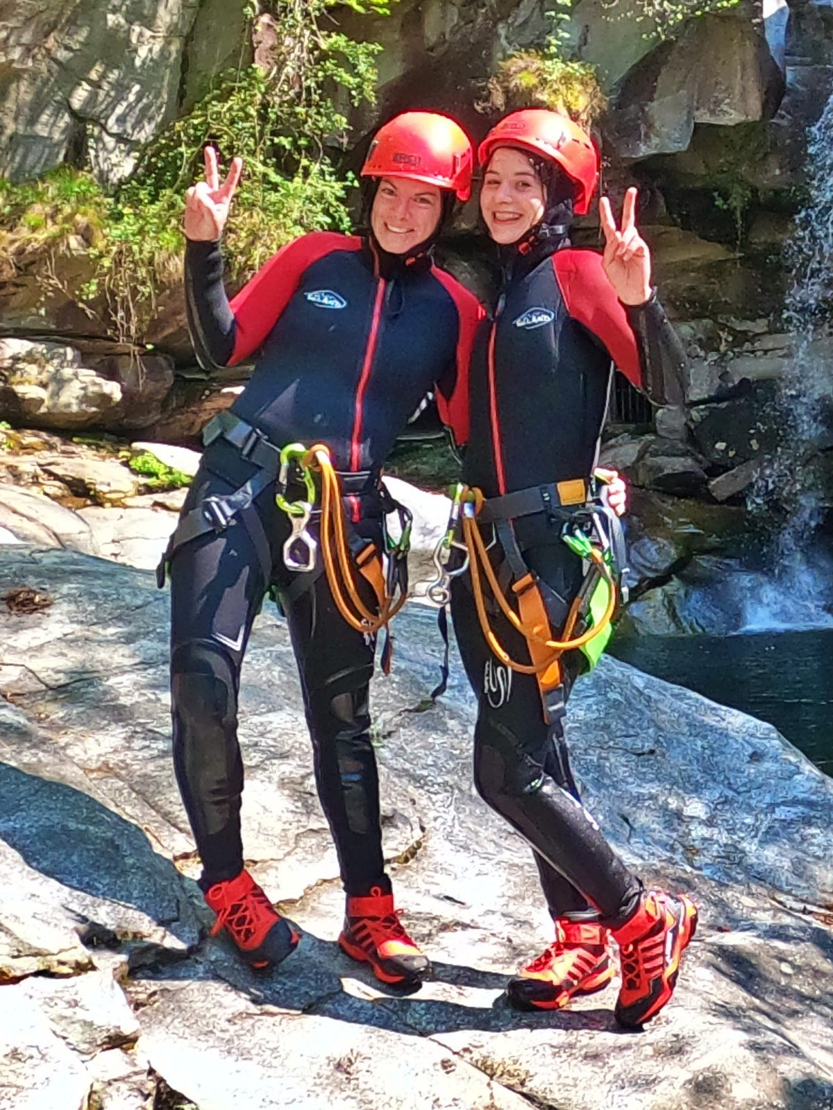 mothers day canyoning