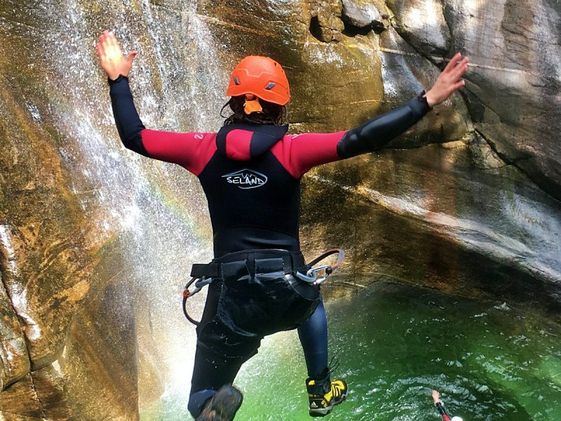 iragna Anfänger Canyoning