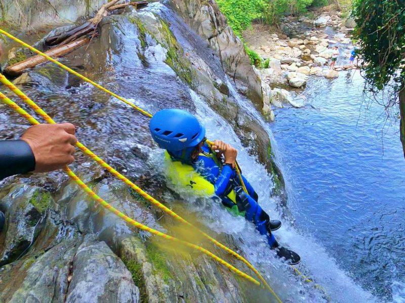 Vira family canyoning