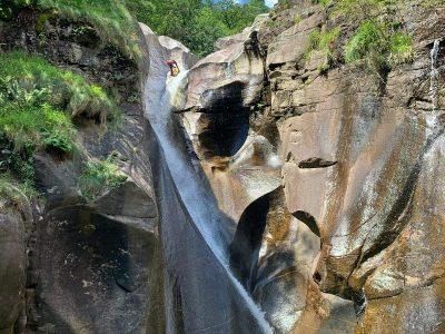 Iragna canyoning débutant