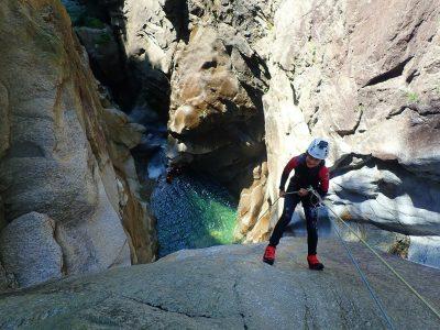 pontirone canyoning 45m